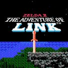 Zelda II: Adventures of Link 1988 Gold NES cartridge and sleeve
