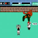 Mike Tyson's Punchout 1987 NES Cartridge and Sleeve