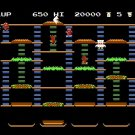 Burgertime 1987 NES Cartridge and Sleeve