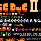 Dig Dug 2 1989 NES Cartridge and Sleeve