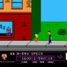 The Simpsons: Bart Vs the Space Mutants 1991 NES Cartridge and Sleeve