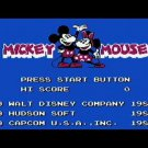Mickey Mousecapades 1988 NES Cartridge and Sleeve