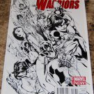 New Warriors #1 [J. Scott Campbell 1:100 Sketch Variant] 2014 Series