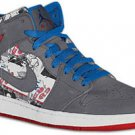 Air Jordan 1 Stealth/Varsity Royal-Sport Red