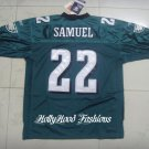 Asante Samuel Authentic Eagles Home Jersey