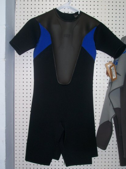 SLIPPERY Spring Reform Suit Wetsuit Large Blue