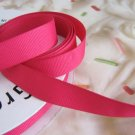 5/8 Inch Wide Pink Grosgrain Ribbon 5 Yards