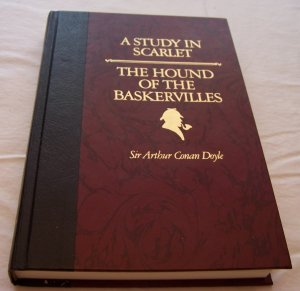 A Study in Scarlet / The Hound of The Baskervilles by Arthur Conan Doyle