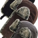Trapper Bomber Aviator Russian Trooper Fur Earflap Winter Ski Hat Mens Womens - Free Shipping in USA