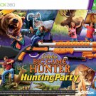 Cabela's Big Game Hunter Hunting Party Game with Gun Bundle - Xbox 360 - Free Shipping in USA
