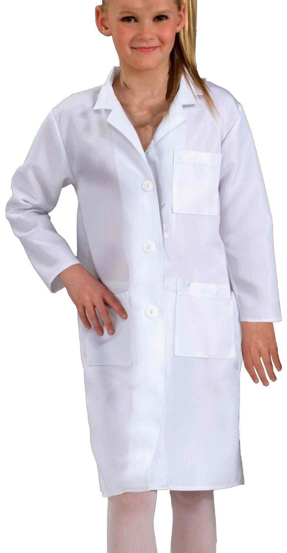 Doctor Lab Coat Child White