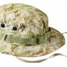 Large Size Bucket Hat Boonie Hunting Fishing Outdoor Cap - Wide Brim Military Boonie Hat