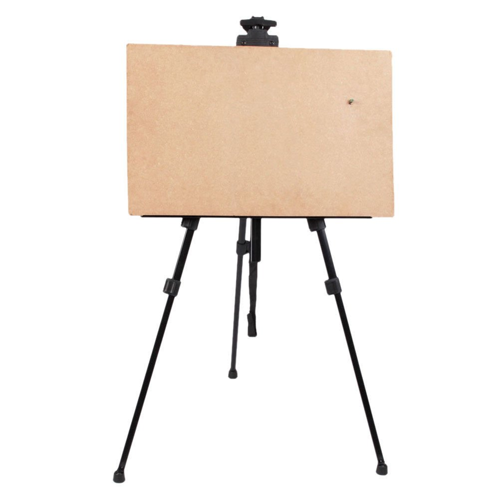 Artist Aluminium Alloy Folding Painting Easel Adjustable Tripod With Carry Bag - Free shipping