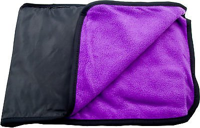 Water Resistant & Windproof Fleece Stadium Picnic Camping Mat Pad Blanket - Free Shipping