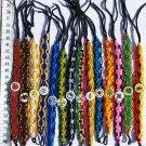 Lot 50 Wide Ceramic Friendship Bracelets