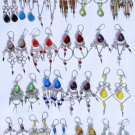 Lot 10 Pairs of Alpaca Murano Earrings