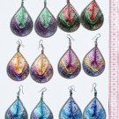 6 Pairs Big Bright Woven Handmade Thread Earrings Sale