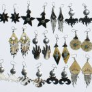 8 Pairs Handmade Carved Bull Horn Tribal Earrings Peru