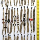 LOT 6 HAND MADE SHUAR SEED BRACELETS FROM ECUADOR