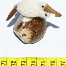 Hand Carved Pelican Bird Tagua Figurine, Art Of Ecuador