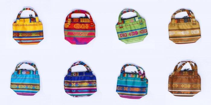 Lot 3 color small fashion women's handbags hand purses