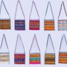 Lot 3 colorful ethnic fashion women's purses handbags