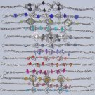 10 Link Bracelets Color Stones Beaded Jewelry Wholesale