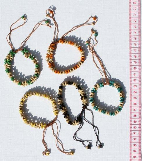 5 Seed Artisan Bracelets Handmade Jewelry Art Wholesale