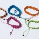 5 Hand Woven Thread Tropical Seed Bracelets Wholesale
