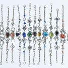 12 Link Chain Bracelets With Cat Eye Jewelry Gemstones