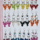 7 Pairs Dangling Drop Earrings Peru Jewelry Wholesale