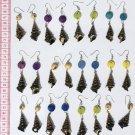 5 Pairs Sea Shell Earrings Ethnic Fashion Jewelry Peru