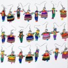 12 Pairs Earrings Ethnic Peruvian Men & Women, Jewelry