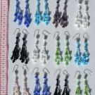 6 Pairs Color Pearls Earrings Buy Peruvian Jewelry Art