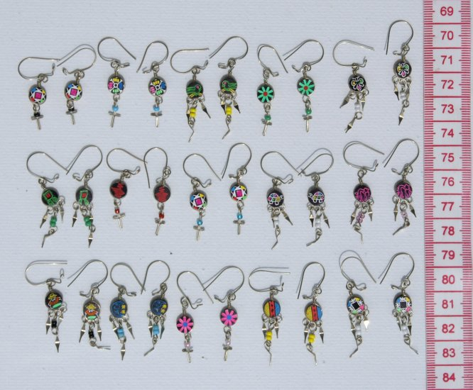 Lot 10 Pairs Small Earrings Southwest Jewelry Wholesale