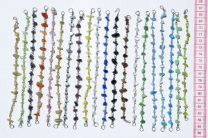10 Bracelets Color Pearls Handmade Jewelry Wholesale