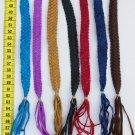 10 Leather Friendship Woven Tribal Bracelets Peru Art