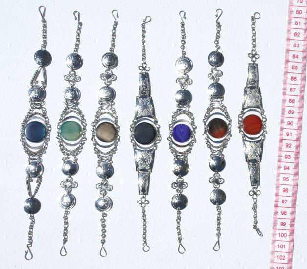 5 Agate Natural Gemstone Bracelets Jewelry Wholesale