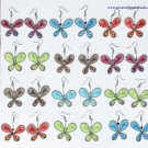 10 Pairs Thread Butterfly Earrings Peruvian Jewelry Art
