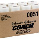 "J&J Coaches Athletic Tape 2""x15yds. 24/Ca"