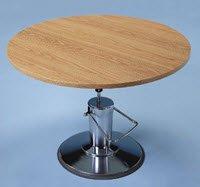 "Table Work Hydrau Rnd 48""Dia 28.5-34"" Ea"