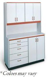 Cabinet Free Stand 6Door/5Dwr Shadow Blue Ea