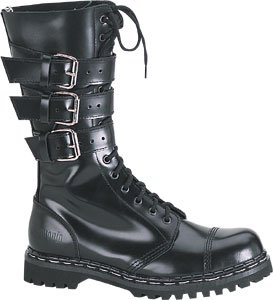 Gravel 14 Leather Boot from Demonia