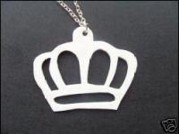 White Crown Scene Necklace £6.00/$12.00