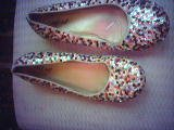 size 9 sequence party slippers