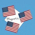 USA Flag Magnet 1 dozen w/ FREE Shipping in US