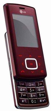 LG KG800 Chocolate Red Wine Edition (Unlocked)