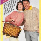 His and Her Knitted Sweaters  Snipped Knitting Pattern
