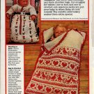 Patterns for snuggy Bags for Baby Snipped Crochet and Knit Patterns