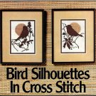 Bird Silhouettes in cross stitch Snipped Patterns